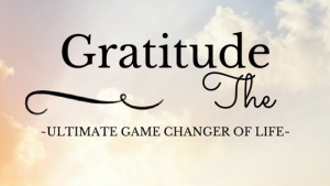 Gratitude game changer